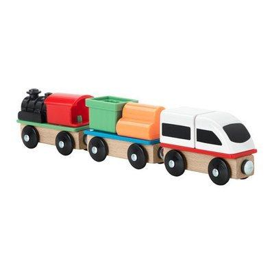 ЛИЛЛАБУ Поезд, 3 вагона