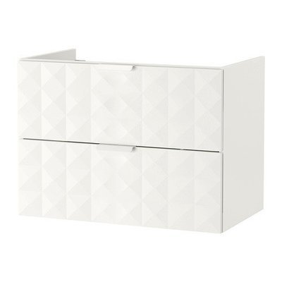 ГОДМОРГОН Шкаф для раковины с 2 ящ - Решён белый, 80x47x58 см