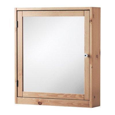 СИЛВЕРОН Шкафчик зеркальный - светло-коричневый