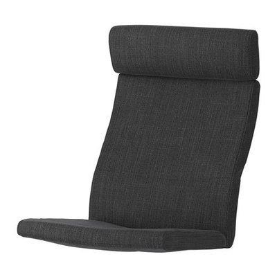 ПОЭНГ Подушка-сиденье на кресло - Хилларед антрацит