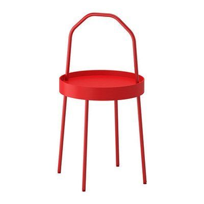 БУРВИК Придиванный столик - красный