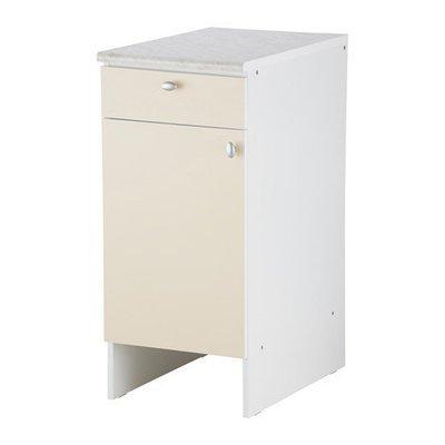 ОВЕРБУ Напольный шкаф с дверью и ящиком