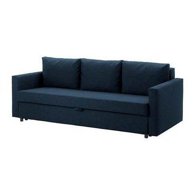 ФРИХЕТЭН 3-местный диван-кровать - Шифтебу темно-синий