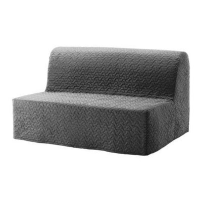 ЛИКСЕЛЕ ЛЁВОС 2-местный диван-кровать - Валларум серый