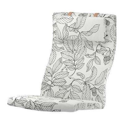 ПОЭНГ Подушка-сиденье на кресло - Висланда черный/белый