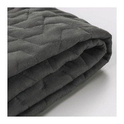 ЛИКСЕЛЕ Чехол на 2-местный диван-кровать - Валларум серый