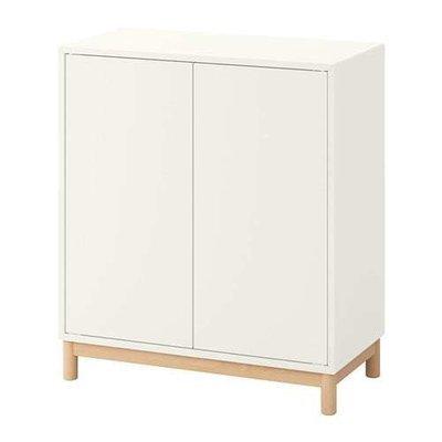 ЭКЕТ Комбинация шкафов с ножками - белый