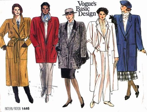 Vogue 1446 (ca. 1984)