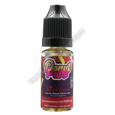 Salt - Donut Puff - Swedish Berries - 10ml - High