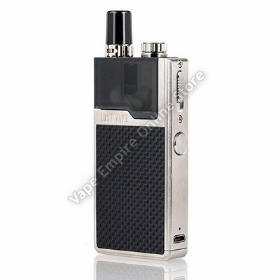 Lost Vape - Orion Q 17W Pod System - Stainless Steel - Black Weave