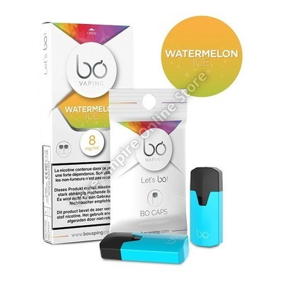 BO Vaping - BO Cap Pod System - Watermelon Ice - High