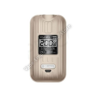 XOMO - Button Remo 200W TC Box Mod - Gold