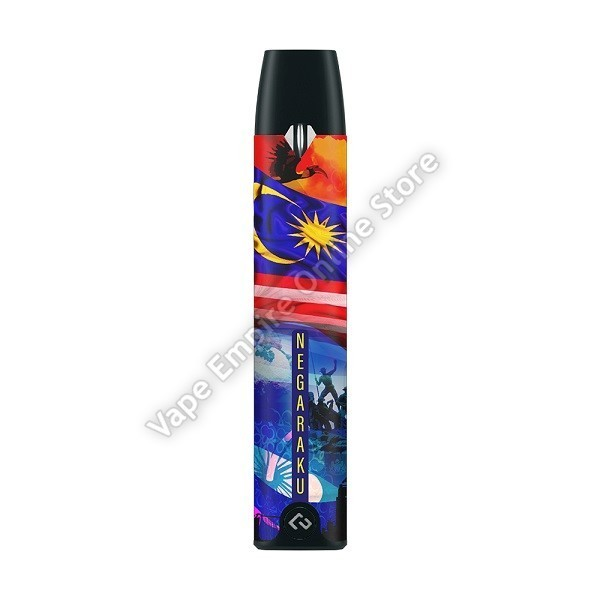 HCigar - Akso Pod Kit 350mAh - Negaraku Limited Edition