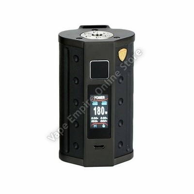 D.E.J.A.V.U - DJV D7 180W Touch Screen TC Box Mod - Black