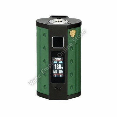 D.E.J.A.V.U - DJV D7 180W Touch Screen TC Box Mod - Army Green