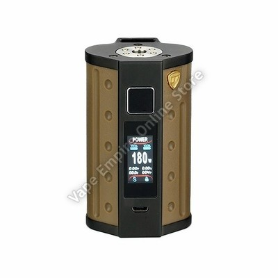 D.E.J.A.V.U - DJV D7 180W Touch Screen TC Box Mod - Sand Yellow