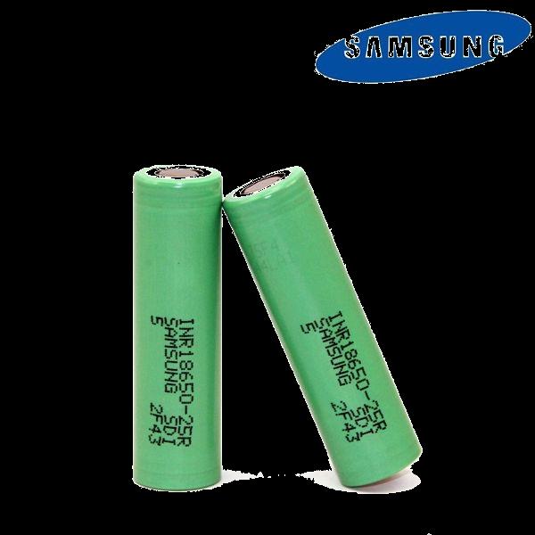 Samsung INR18650-25R 2500mAh Battery - 20Amp