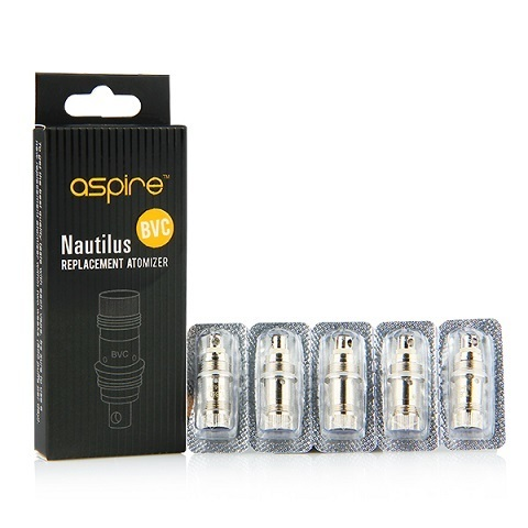 Aspire Nautilus Replacement BVC Atomizer - 0.7ohm (pack of 5)