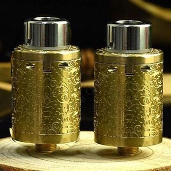 HCigar - Maze 24mm RDA V2 - Gold (Carving)