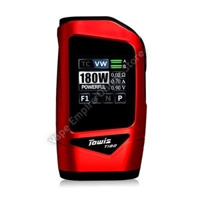 HCigar - Towis T180 TC Box Mod - Red