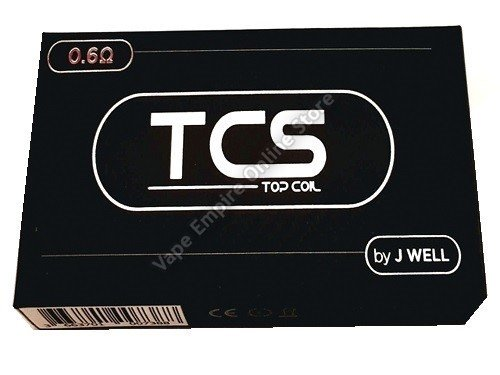 J Well - TCS Replacement Coils for Gecko - 0.6ohm (pack of 5)