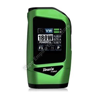 HCigar - Towis T180 TC Box Mod - Green