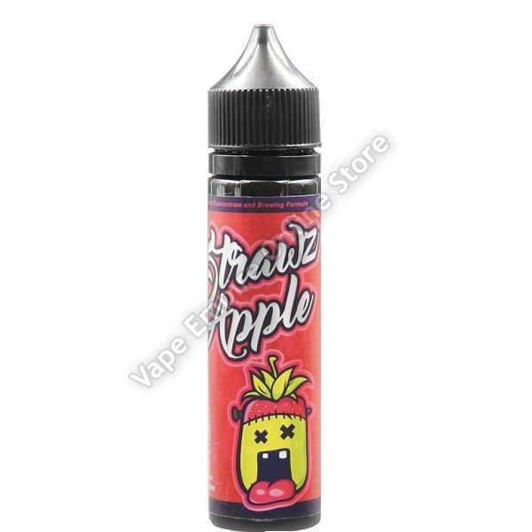 Monsta Vape - Strawz Apple - 60ml - 3mg