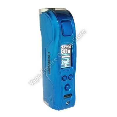 Beginner's Set Deal - HCigar - Warwolf 80w TC Box Mod - Blue