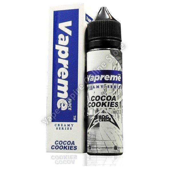 Vapreme - Creamy Series - Cocoa Cookies -  60ml