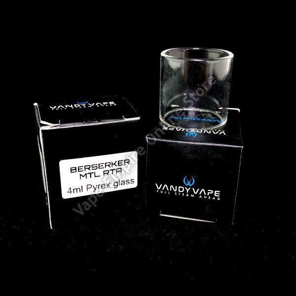 Vandy Vape - Berserker MTL RTA - 4ml Replacement Glass Tank