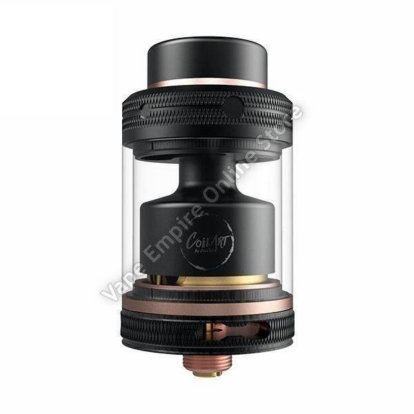 CoilART - MAGE RTA V2 - 24mm - Black Rose Gold
