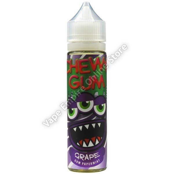 Chewy Gum - Grape Gum Peppermint - 60ml