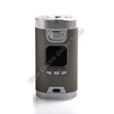 Beginner's Set Deal - HCigar - Wildwolf 235W TC Box Mod - Silver