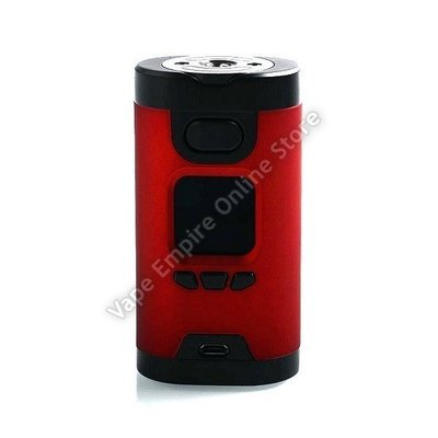 Beginner's Set Deal - HCigar - Wildwolf 235W TC Box Mod - Red
