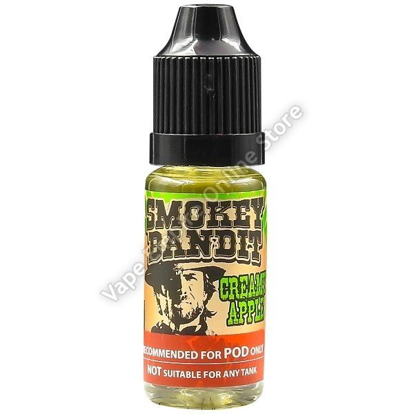 Smokey Bandit - Nic Salt - Creamy Apple - 10ml - 12mg