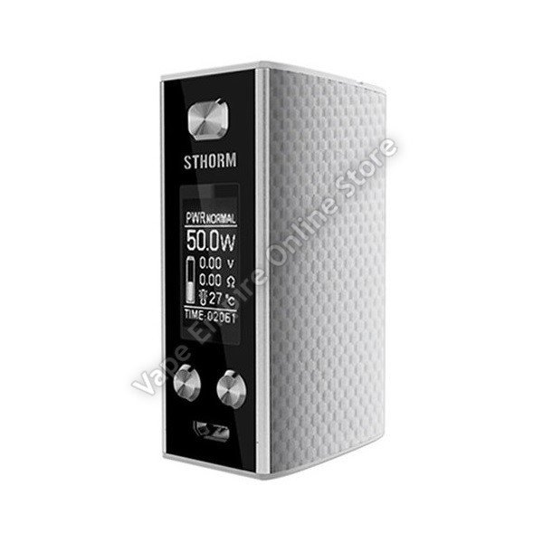 Beginner's Set Deal - Ehpro - Sthorm 50W 1450mAh TC Box Mod - Silver