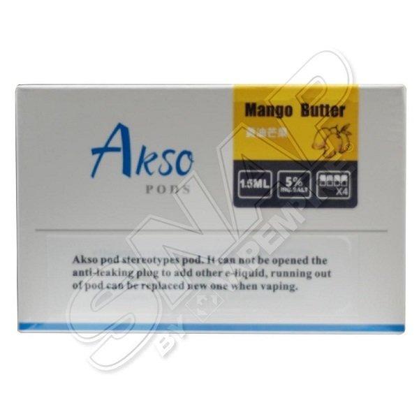 HCigar - Akso - Disposable Flavour Pods - Mango Butter