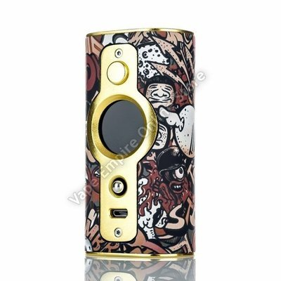 VSticking - VK530 200W TC Box Mod - Graffiti Gold