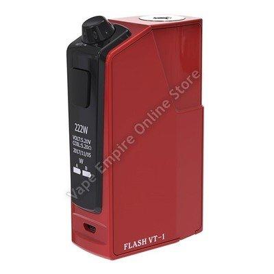 Oumier - Flash VT-1 222W TC Box Mod - Red