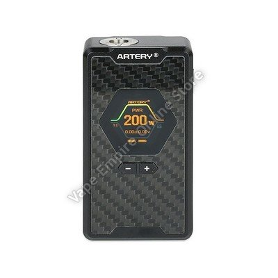 Artery - Hive 200W TC Box Mod - Carbon Fibre