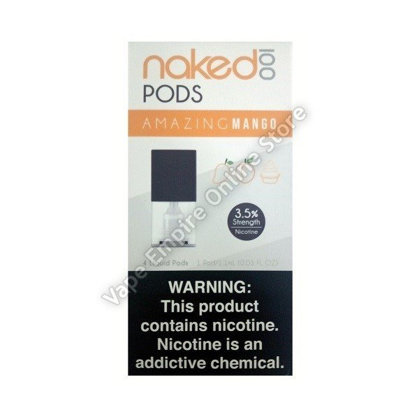 Naked 100 - Replacement Flavour Pod - Amazing Mango