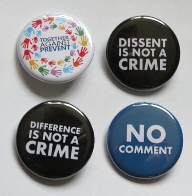 Pack of 4 Netpol badges