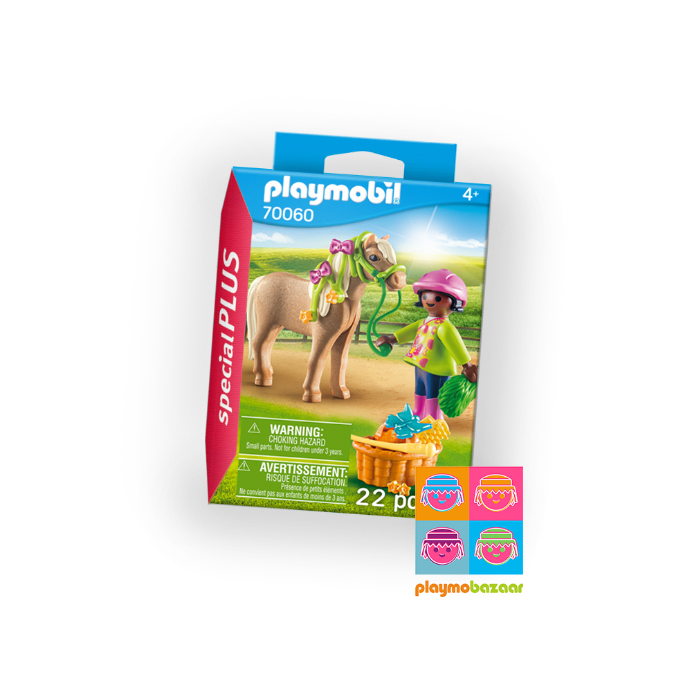 70060 Girl with Pony 女孩與小馬