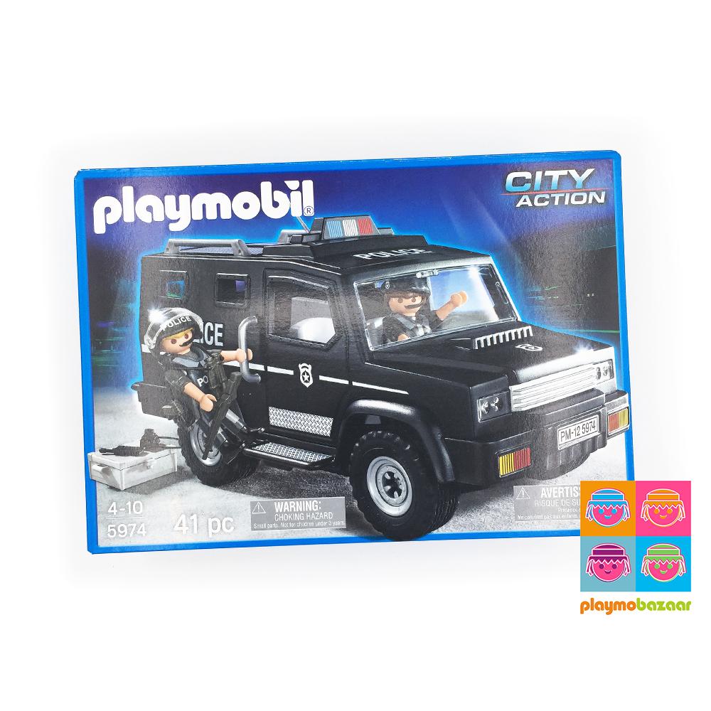 5974 Tactical Unit Car 特種部隊車 美國版