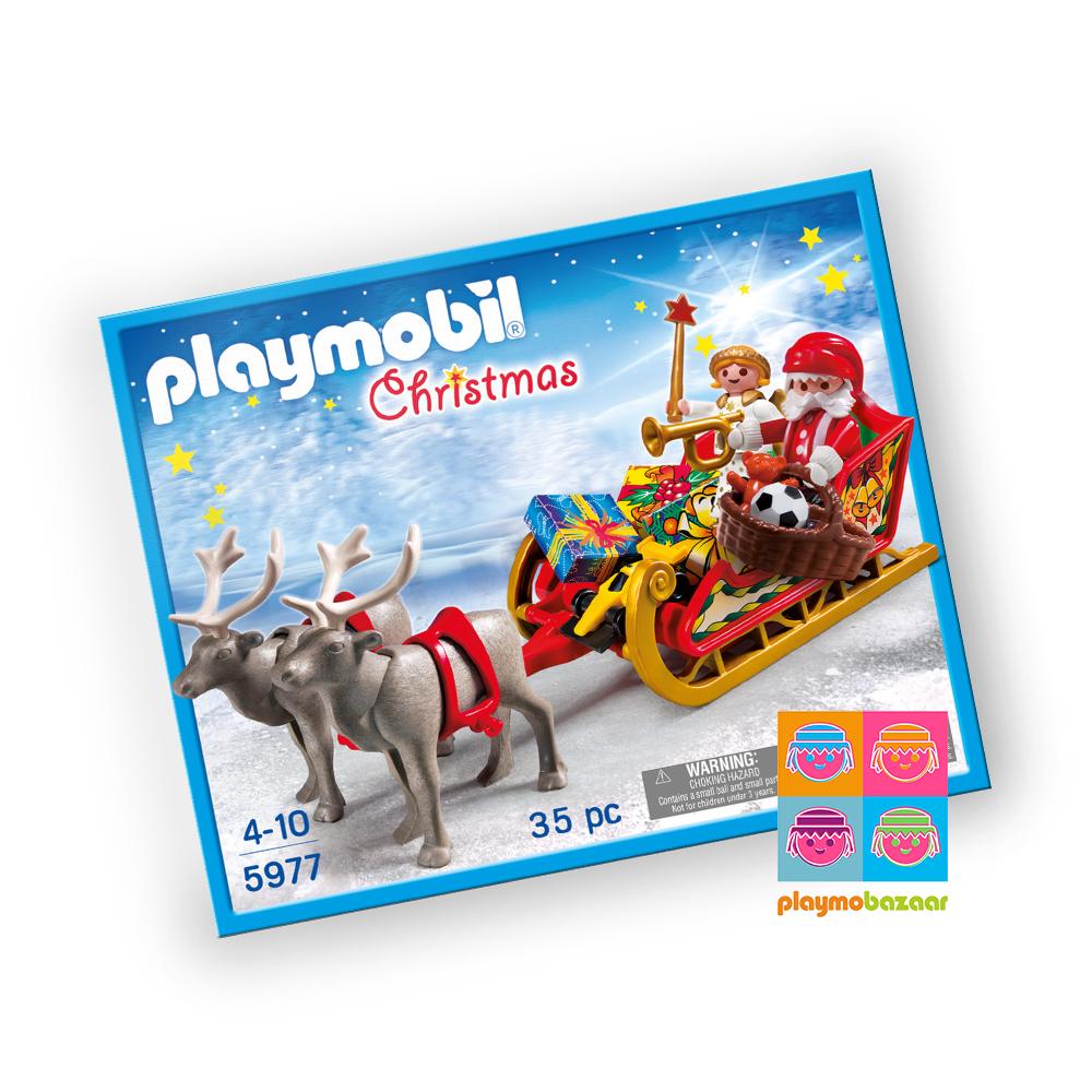 5977 Santa's Sleigh 聖誕老人與雪橇 美國版