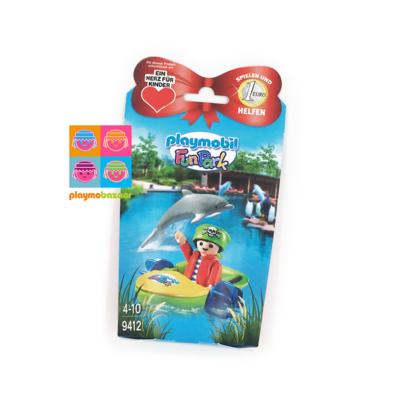 9412 Funpark Pirate Rico 小海盜與手划船 特別版