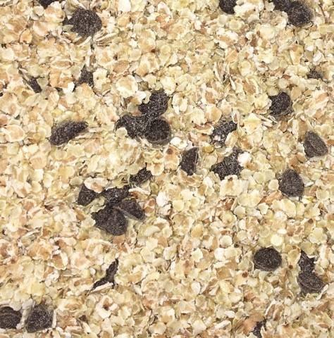 NOUVEAU: Muesli aux sarrasins,quinoa et chocolat (sans gluten) - 1 kg 00427