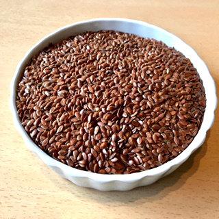 Graines de lin brunes bio en 250 g