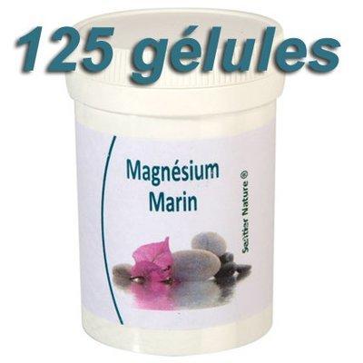 Magnésium marin: pot de 125 gélules