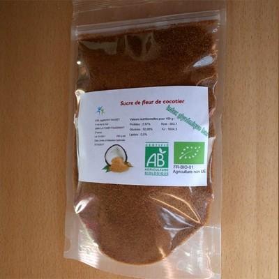 Sucre de fleur de coco bio en 200 g